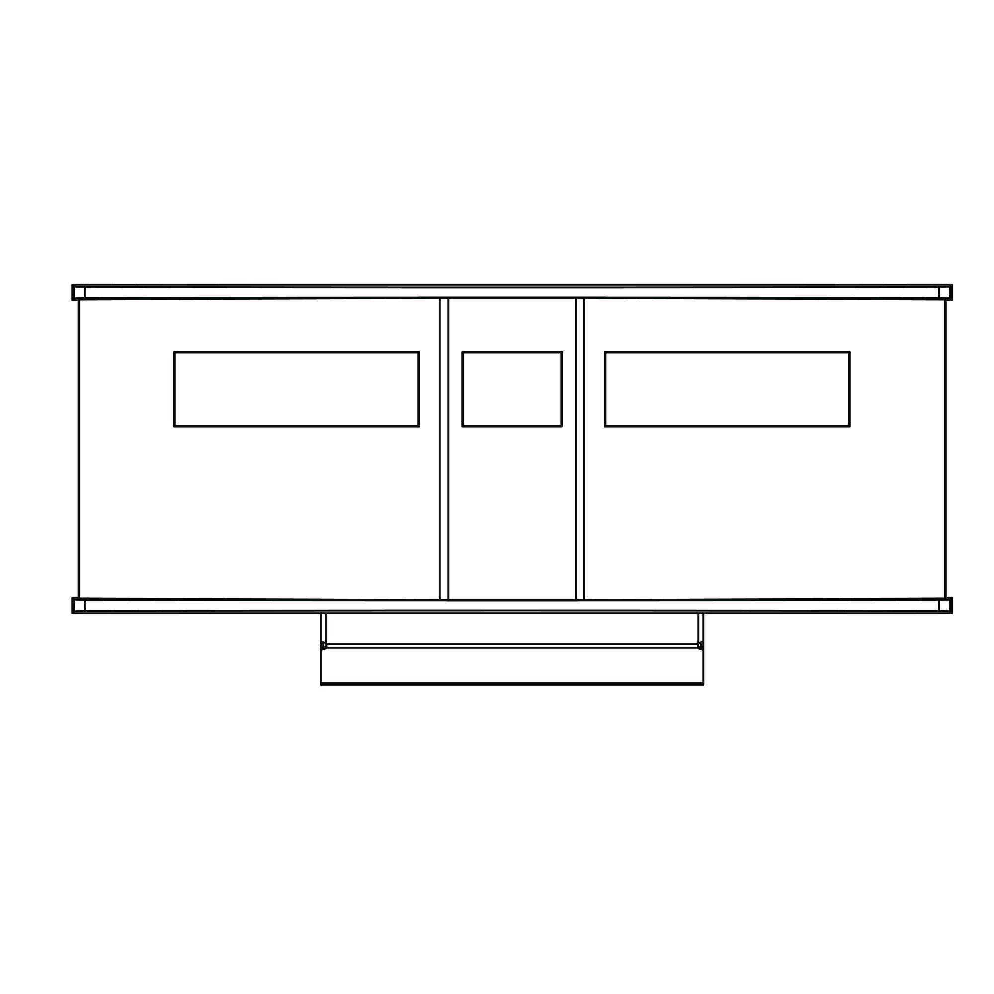 Window recess projector 191